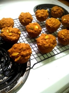 Apple-Pumpkin Muffins!
