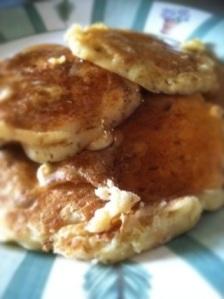 Tangerine-Pecan Pancakes