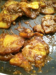 Curried Potatoes Finished