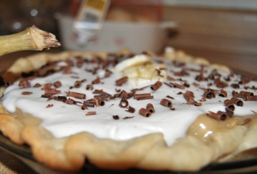Banana Toffee Pie
