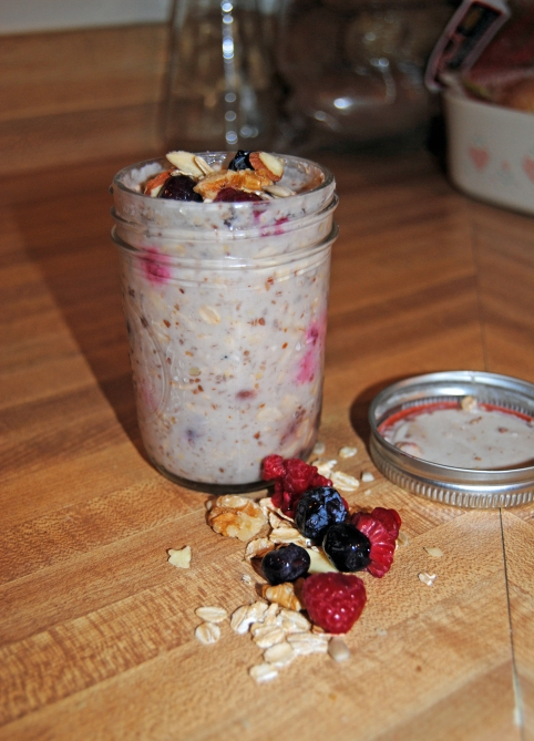 Overnight Berry Parfait