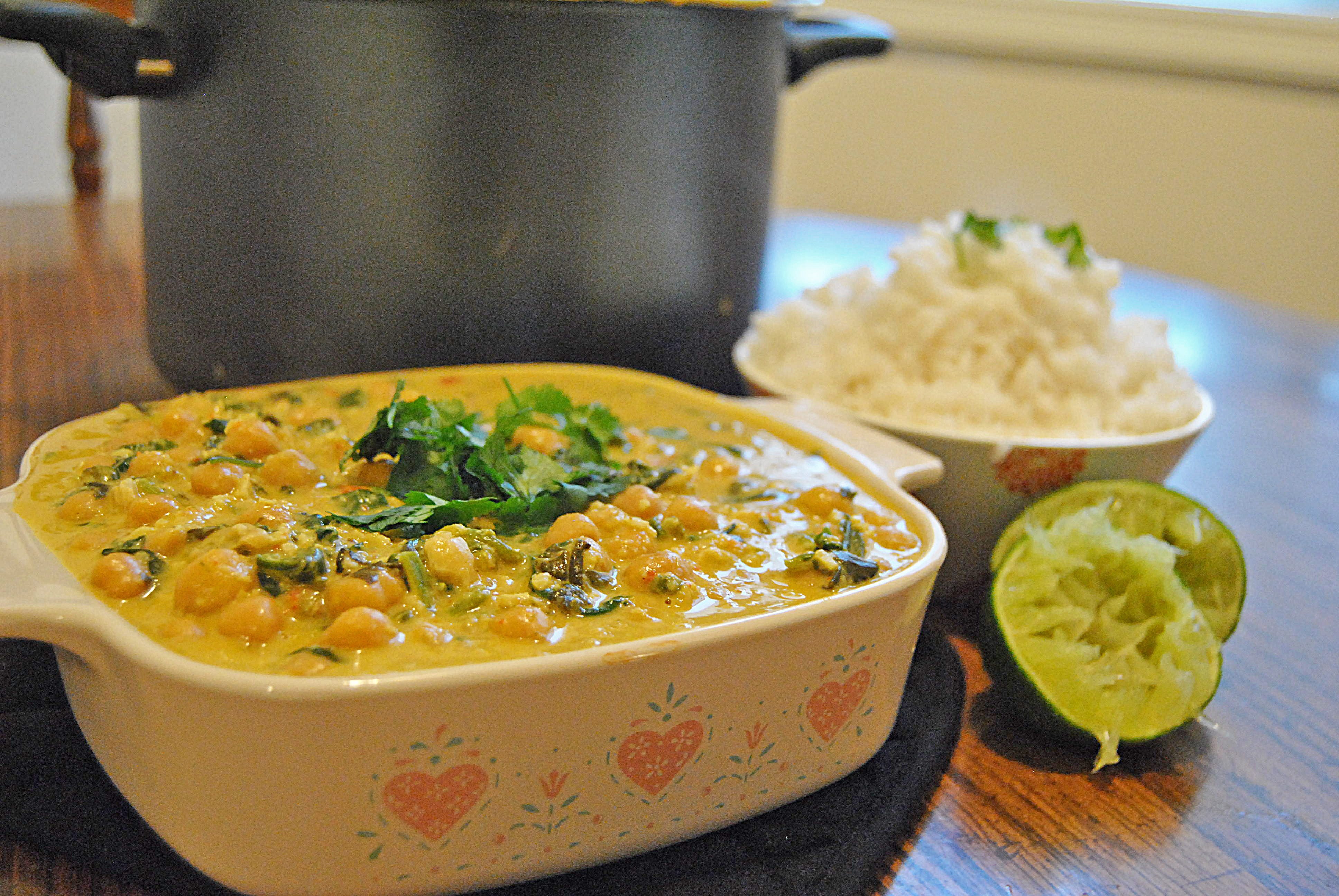 Vegan Chickpea-Cashew Curry |