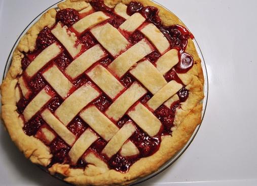Sour Raspberry Pie