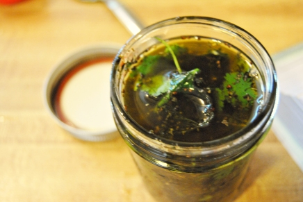 Final Agave Vinaigrette