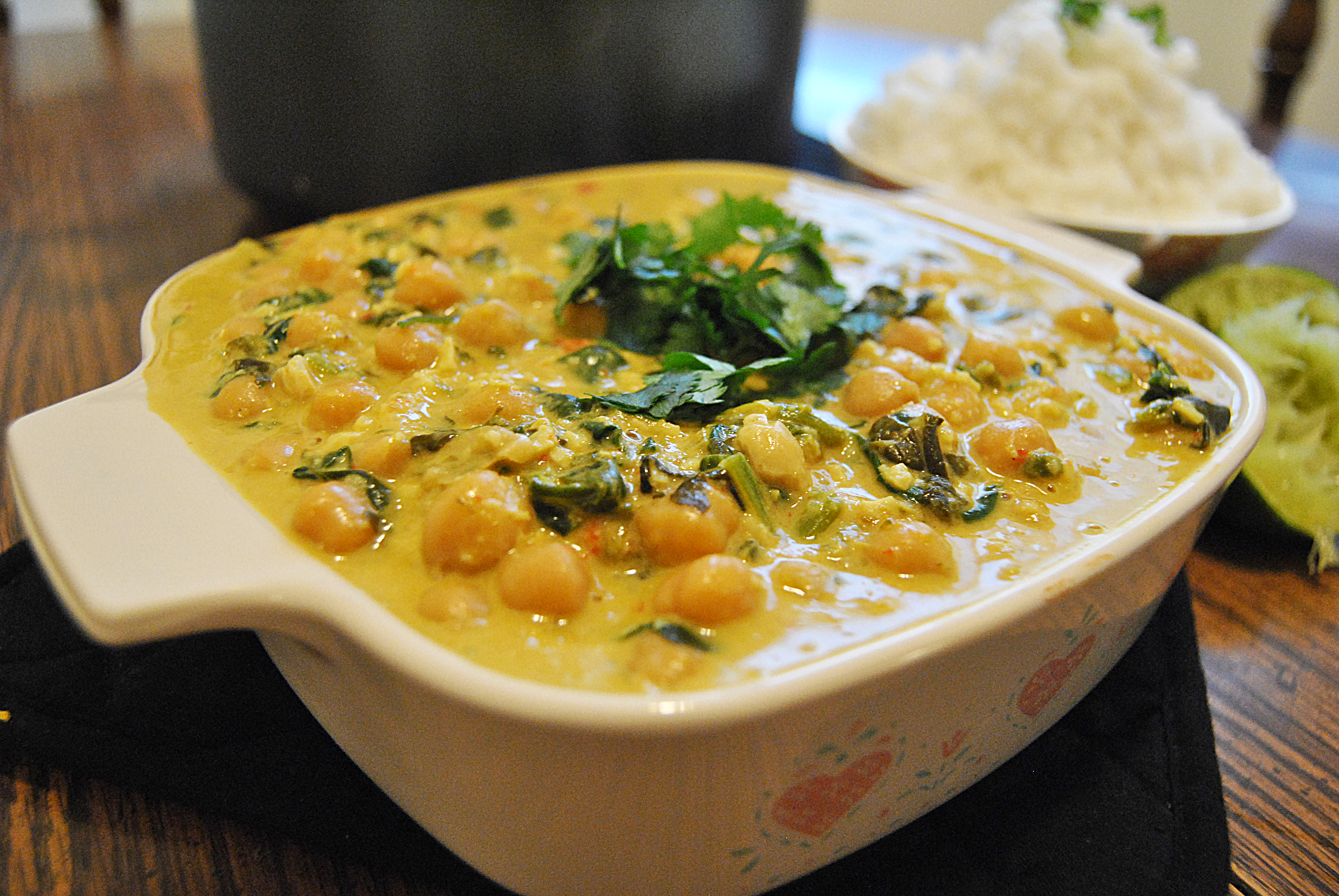 and chickpea green curry chickpea coconut and cashew curry chickpea ...