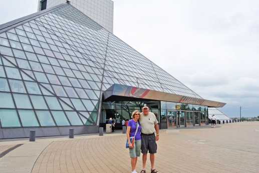 Mom and Dad at the Rock Hall