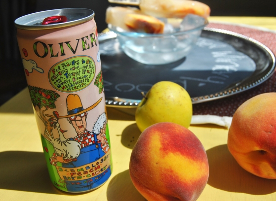 Oliver's Beanblossom Peach Hard Cider