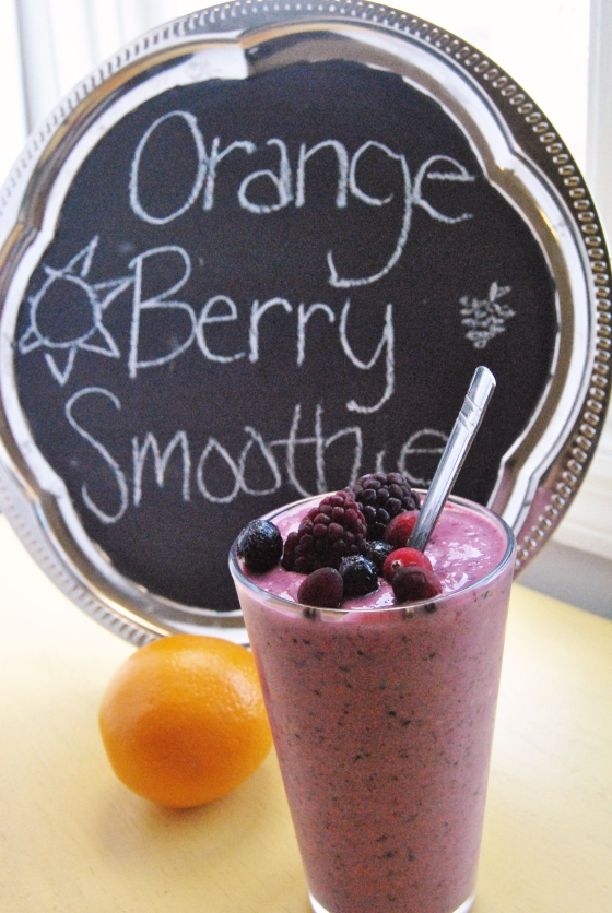 Orange Berry Smoothie